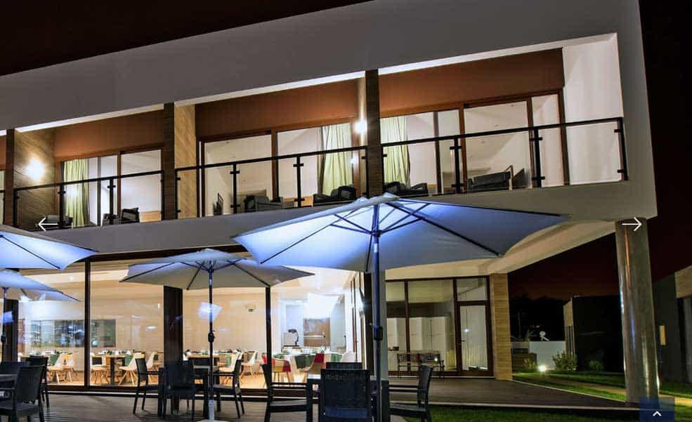 पुर्तगाल, लीरिया, होटल विला दा फोंटे, छत