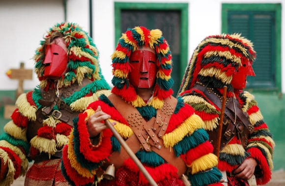 Traditionele Portugese carnavals