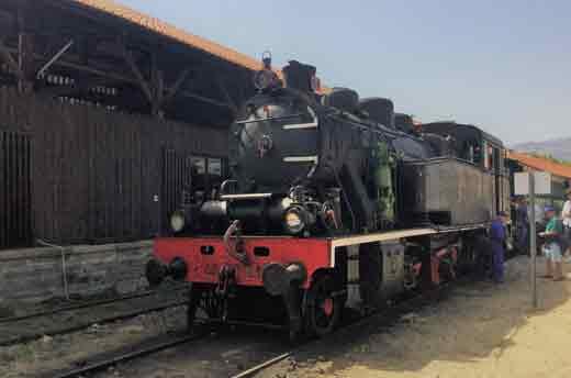 Train historique du Douro