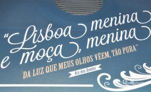 Ary dos Santos, pela cidade de Lisboa