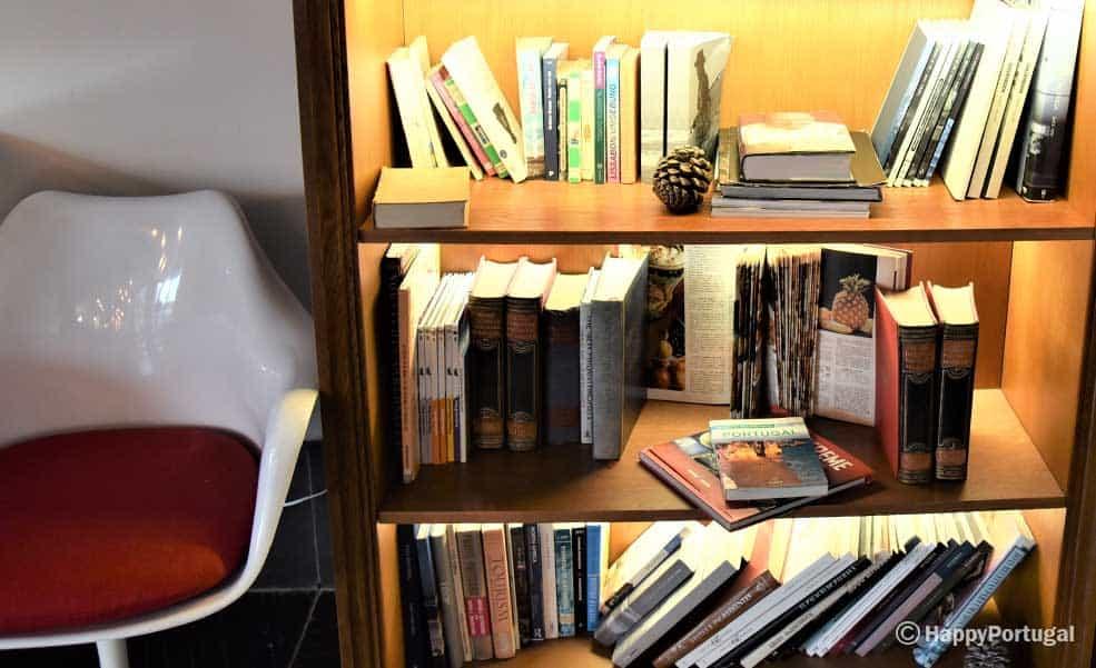 Livros e mais livros, é só escolher, Restaurante Book