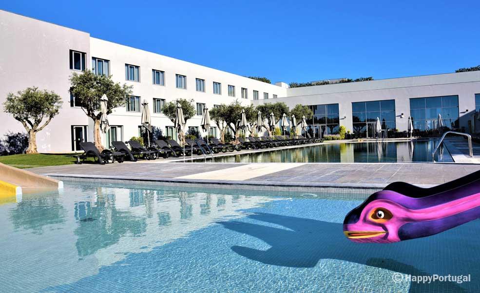 Piscina infantil, Hotel Vila Galé Évora, Alentejo, Portugal