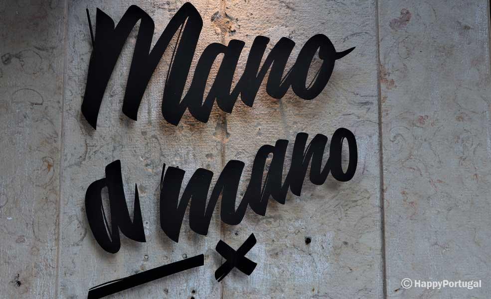 Restaurante Mano a Mano, logotipo