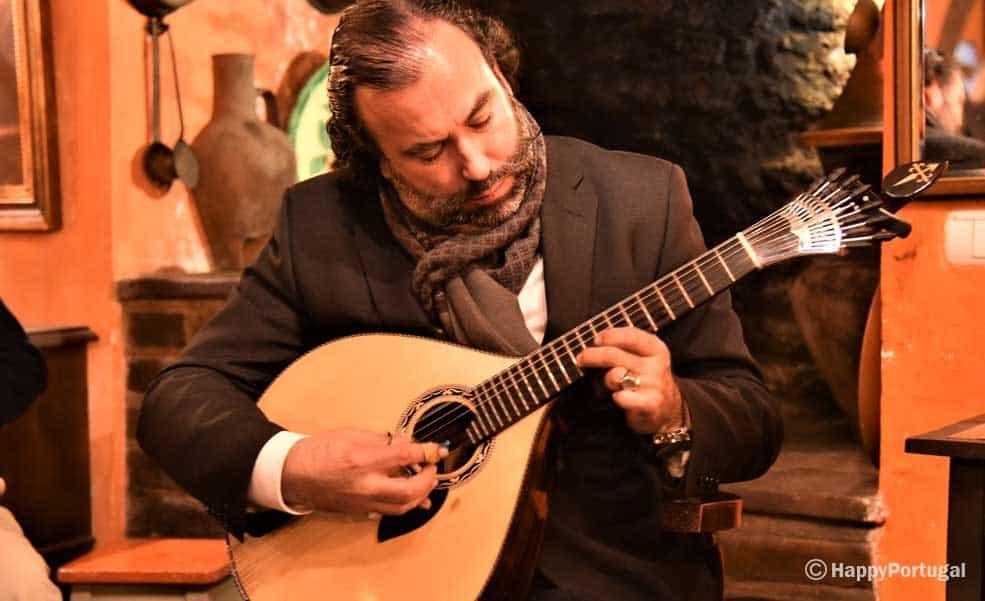 Guitarra Portuguesa, Casa de Fados, Portugal, Évora, Restaurante Bota Alta