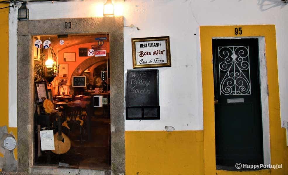 Casa de Fados, Portugal, Évora, Restaurante Bota Alta