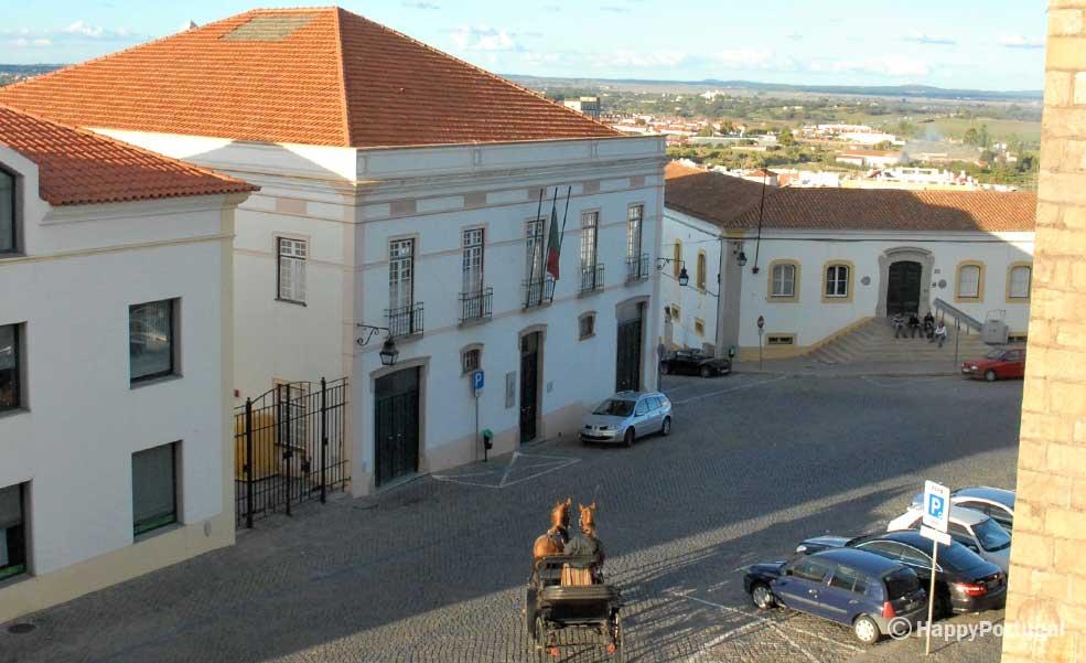 Charette em Évora