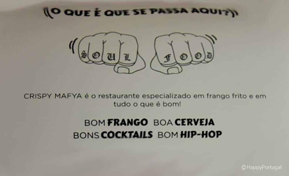 Restaurante de frango frito, Portugal, Lisboa, Restaurante CHRISPY MAYA