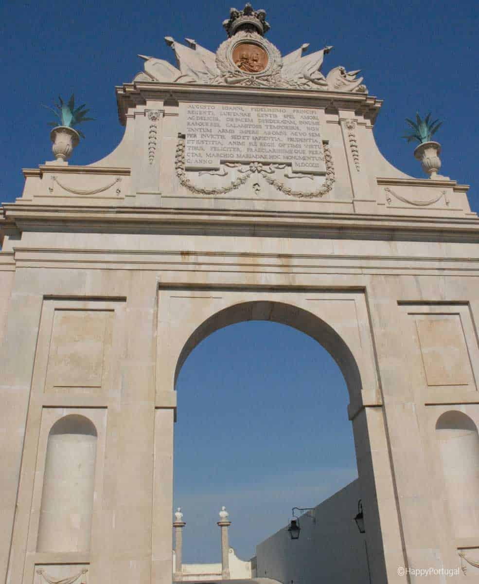 Arco Triunfal Tivoli Palácio de Seteais @happyportugal