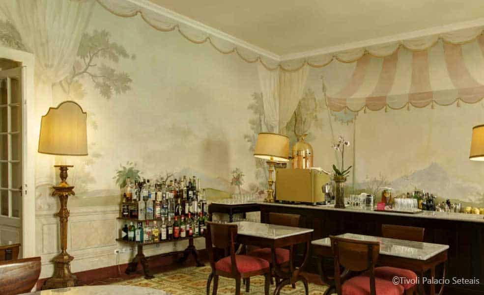 Bar do Tivoli Palácio de Seteais - HappyPortugal