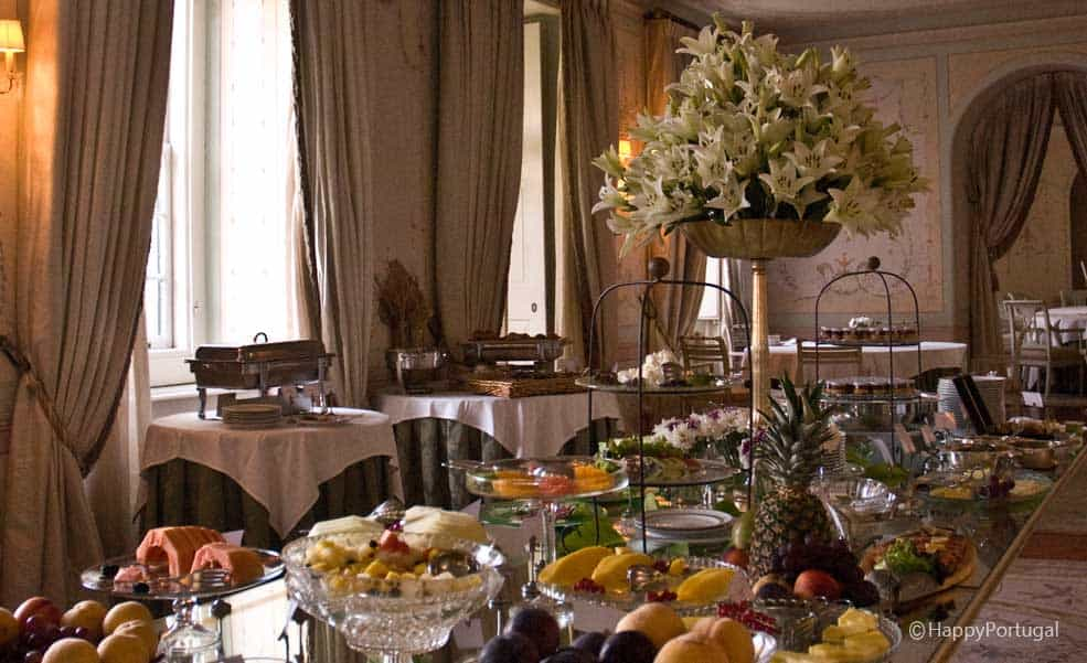 Pequeno almoço Tivoli Palácio Seteais @happyportugal